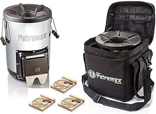 Petromax Raketenofen rf33 inkl.Tasche + 3x Feuerkit