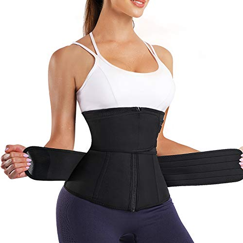Damen Taillenformer Waist Trainer Bauchweggürtel Mieder Korsett Abnehmen Shaper