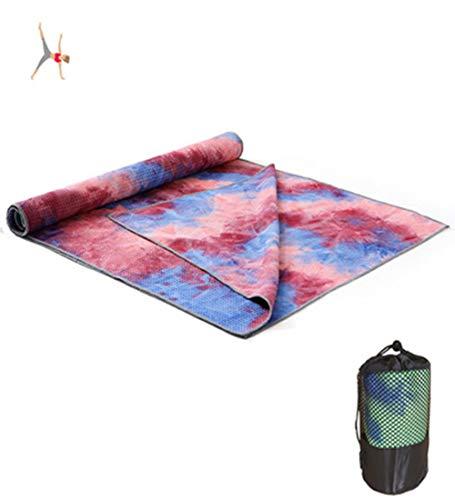 Avril Tian Yoga-Handtuch rutschfest Super Weich Schweißabsorbierend Hot Yoga-Handtuch für Pilates, Fitnessstudio und Workout