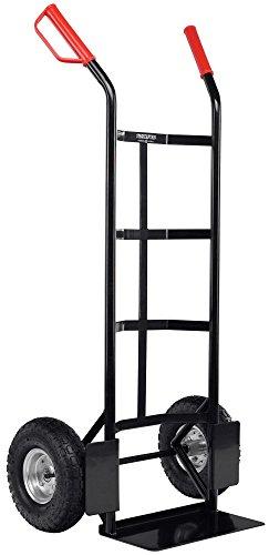 Stagecaptain Carryboy Sackkarre - Transportkarre für Umzug oder Getränkekisten - Stabiler Metallrahmen und Luftreifen mit 27cm Durchmesser - Handkarre mit...
