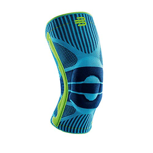 """Bauerfeind knee support """"Knee Support"""" unisex, 1 sports knee support for jogging and football, knee support with silicone ring after cruciate ligament tear / meniscus tear, right ..."""