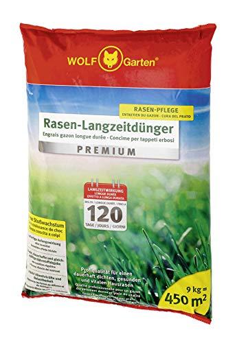 WOLF-Garten - Rasen-Langzeitdünger »Premium« 120 Tage LE 450, 3830045