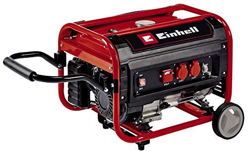 Einhell Stromerzeuger (Benzin) TC-PG 35/E5 (max. 3.100 W, emissionsarmer 4-Takt-Motor, 2x 230 V-Steckdosen, 15 l-Tank, AVR-Funktion, Überlastschalter,...
