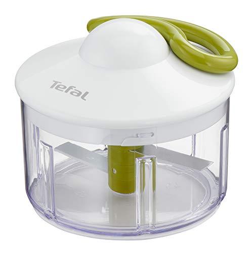 Tefal K13304 5-Sekunden-Zerkleinerer ohne Strom, Fassungsvermögen: 500 ml; Multizerkleinerer; Universalzerkleinerer für Gemüse, Obst, Zwiebeln, Nüsse, Knoblauch,...