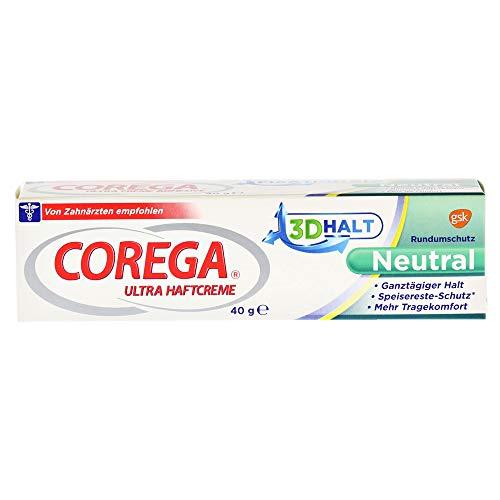 COREGA Ultra Haftcreme 3D Halt Neutral, 40 g