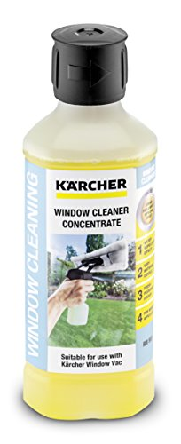 Kärcher Glass Cleaner Concentrate RM 503 (volume: 0,5 l, streak-free cleaning of glass, windows, mirrors and shower cabins)