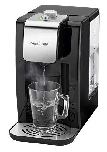 ProfiCook PC-HWS 1168 Highspeed-Wasserspender, 100°C in ca. 3 Sekunden, variable Temperatureinstellung von 45°C bis 100°C, bis zu 2,2 Liter Fassungsvermögen,...
