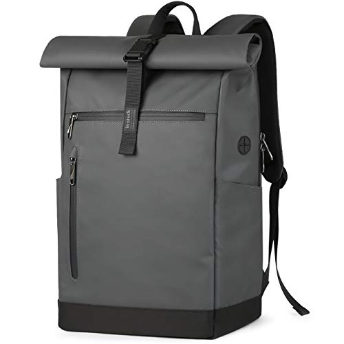 Inateck RollTop Backpack Men Women 25L-30L Bicycle Backpack School Backpack Daypack for Uni Bicycle Leisure Job Sport Travel, Cycling Backpack Stylish ...