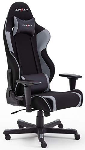Robas Lund DX Racer OH/RW86/NG R2 Gaming Stuhl XXl für Große Gamer bestens geeignet, mit Wippfunktion Gamer Stuhl Höhenverstellbarer Drehstuhl PC Stuhl...