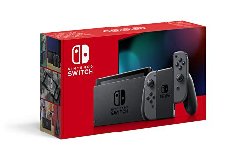 Nintendo Switch Console - Gray (2019 Edition)