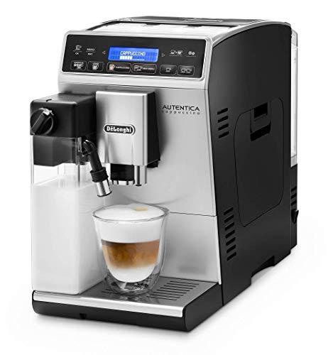 De'Longhi Autentica Cappuccino ETAM 29.660.SB Kaffeevollautomat (1450 Watt, Digitaldisplay, integriertes Milchsystem, Lieblingsgetränke auf Knopfdruck,...