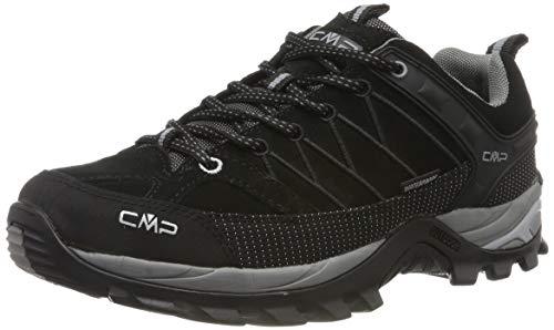 CMP Herren Rigel Low Shoes Wp Trekking-& Wanderhalbschuhe, Schwarz (Negro-Grey 73uc), 44 EU