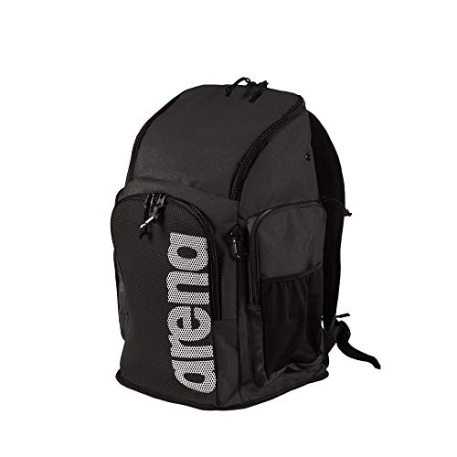 ARENA Team 45 Swim Backpack, Melange Bolsa Team Backpack 45 Team Schwarz (Team Black) Einheitsgröße