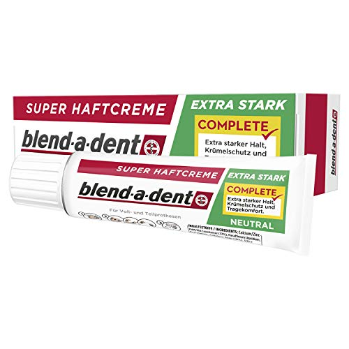 Blend-a-dent Complete Adhesive Cream Neutral 47 g