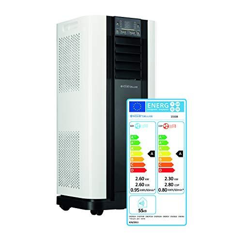 Home Deluxe - Klimaanlage SET Mokli - Mobiles Klimagerät mit 4in1 System: kühlen, heizen, entfeuchten, lüften - 9000 BTU/h (2.600 Watt) - Klima mit...
