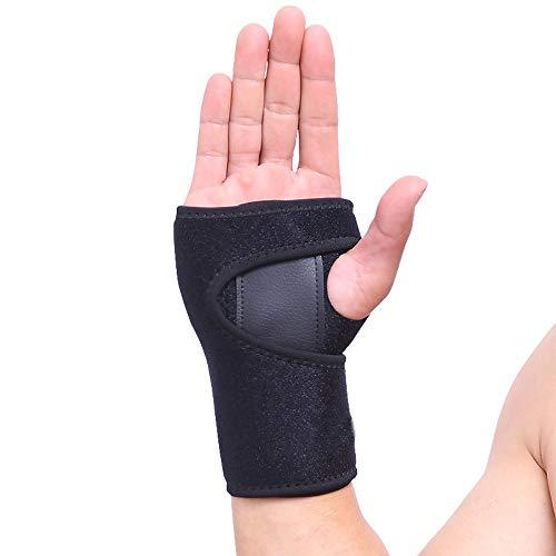 VITTO Handgelenk Bandagen - Handgelenkstütze für Karpaltunnelsyndrom, Sehnenentzündung, Arthritis und Verstauchung (Rechts, Mittel)