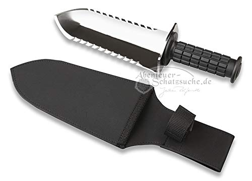 Digger stainless steel excavation knife