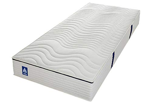 Irisette Badenia Bettcomfort Fehmarn 7 zones Tonnent pocket spring mattress, hardness 3, 90 x 200 cm