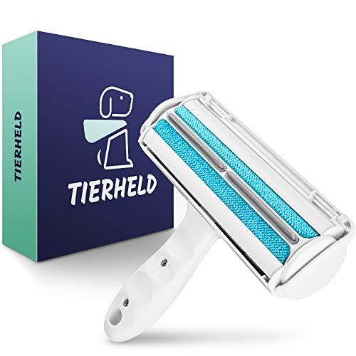 TIERHELD® - Tierhaarentferner Fusselrolle für Möbel & Autos - Katzenhaarentferner - Fusselbürste Tierhaare - Hundehaarentferner - Fusselrolle Tierhaare -...