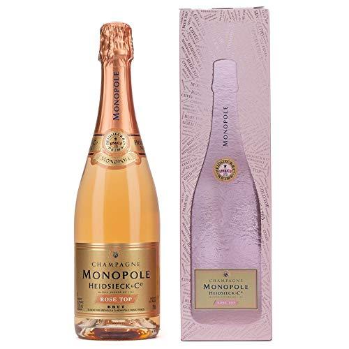 Heidsieck & Co. Monopole Rosé Top Brut Champagner mit Geschenkverpackung (1 x 0.75 l)