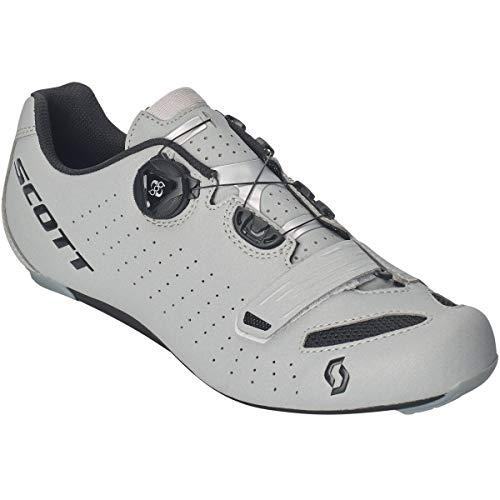 Scott Road Comp Boa Rennrad Fahrrad Schuhe Reflective grau/schwarz 2019: Größe: 43