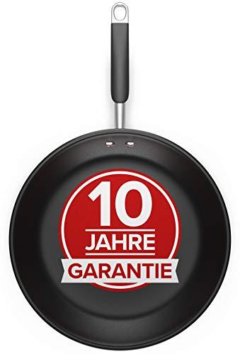 Pfanne 28cm - Für alle Herdarten - Antihaft Beschichtete Pfanne 28cm aus Edelstahl, Optimierte Griffe, Perfekte Hitzeverteilung, Spülmaschinen- und Ofenfest -...