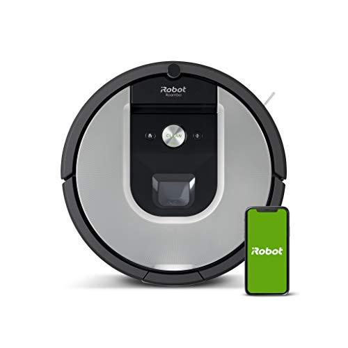 iRobot Roomba 971 Saugroboter mit starker Saugkraft, 3-stufigem Reinigungssystem, Raumkartierung, Zwei Multibodenbürsten, Kompatibel mit der Imprint Link...
