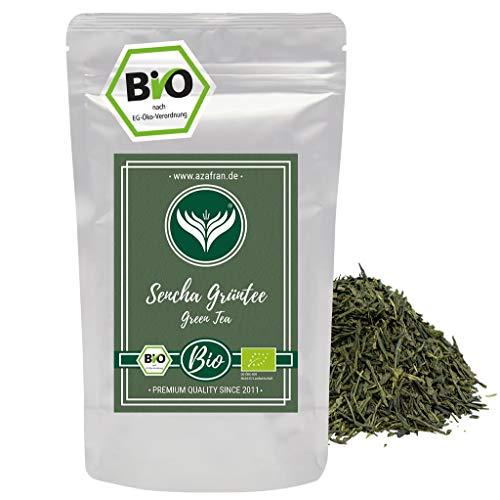 Azafran Grüner Tee - BIO Sencha Grüntee - Original Uchiyama aus Japan 250g