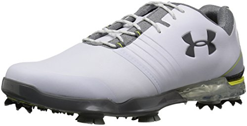 Under Armour Herren UA Match Play Golfschuhe, Weiß (White 101), 43 EU