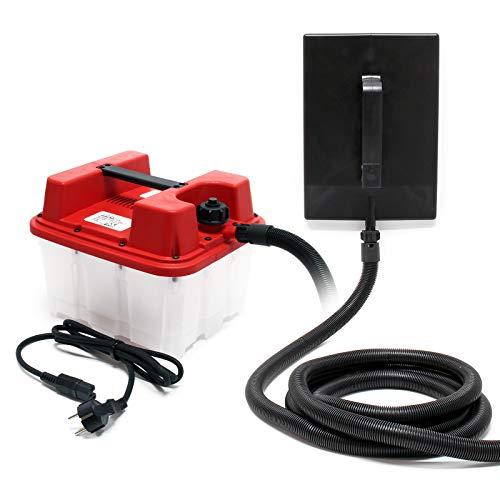 Dampf Tapetenablöser mit 4,5l Behälter 2200W Leistung 70 Min. Laufzeit