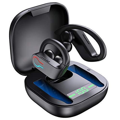 Bluetooth 5.1 Kopfhörer Sport IPX7 Wasserdicht Kabellose Sportkopfhörer In Ear Wireless Earbuds Ohrhörer 40 Stunden Spielzeit, Premium Klangprofil, Kopfhörer...
