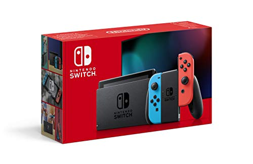 Nintendo Switch Console - Neon Red / Neon Blue (2019 Edition)