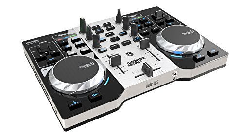 Hercules DJ Control Instinct S Series (2 Deck DJ Controller, Integrated Sound Card, DJUCED 18 °, PC / Mac)