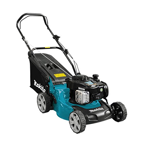 Makita PLM4120N Gasoline Lawnmower 41 cm, Black, Blue, Gray