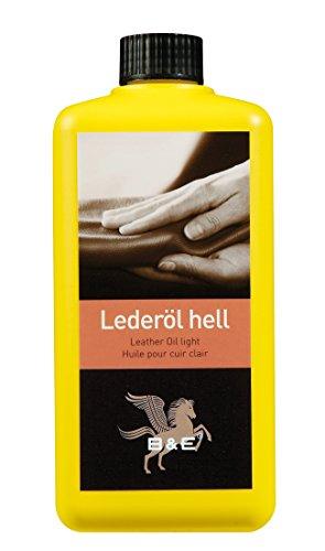 Bense & Eicke Lederöl, 500 ml für alle Glattleder, Sattelzeug, Motorrad und Arbeitskleidung, Leather Oil Light
