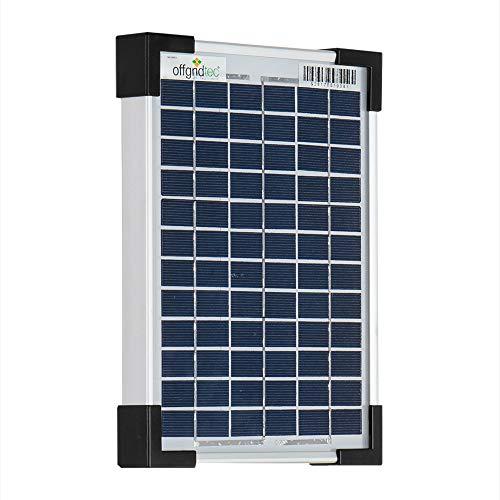 Offgridtec 5 W solar module POLY 12 V, solar panel solar cell, 3-01-001555