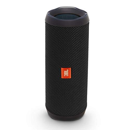 JBL Flip 4 Bluetooth Box in Schwarz – Wasserdichter, tragbarer Lautsprecher mit Freisprechfunktion & Alexa-Integration – Bis zu 12 Stunden Wireless Streaming mit...