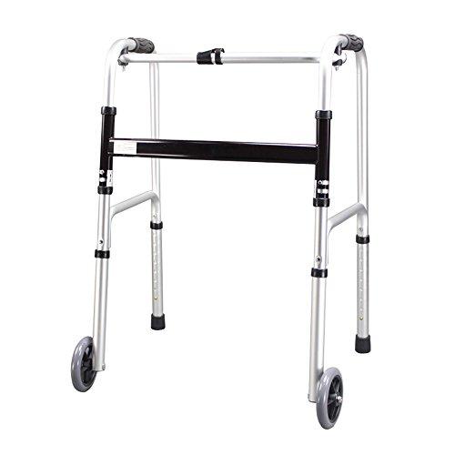 SAILUN kokoontaitettava korkeussäätöinen kävelypukki-rollaattori kävelykehys Kävelyapulaite kävelytuki pyörillä