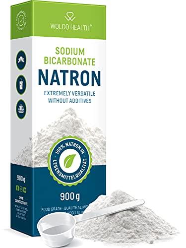 Natron Pulver in Lebensmittelqualität 900g - inkl. Dosierlöffel