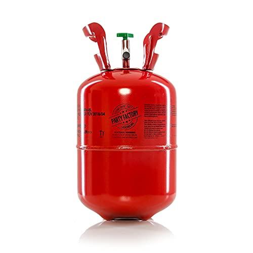 Party Factory Ballongas Helium für 50 Luftballons Heliumgas Gasflasche