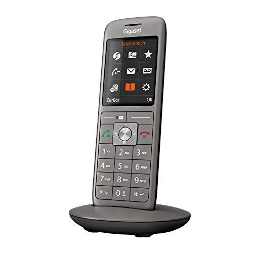 Gigaset CL660 - Schnurloses Telefon ohne Anrufbeantworter mit großem TFT-Farbdisplay - Benutzeroberfläche, großes Adressbuch, schlankes Design Telefon,...