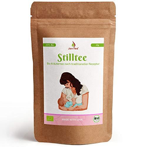 Stilltee Bio von JoviTea für frisch gewordene Mütter - ohne Koffein - Mit Bockshornklee, Fenchel, Anis, Zitronenverbene, Kümmel und Dillsamen - 80g