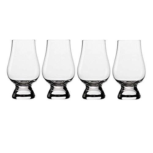 Stölzle Lausitz The Glencairn Whisky Gläser I 4er Set bleifreies Kristall Glas I 190 ml I hochwertiges Scotch Glas I spülmaschinentauglich I einzigartige Gläser...