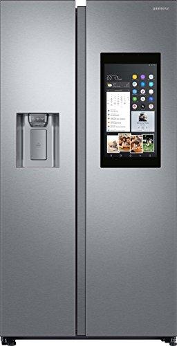 Samsung RS8000 FamilyHub RS68N8941SL/EF Side-by-Side/A++/178 cm/382 kWh/Jahr/383 L Kühlteil/210 L Gefrierteil/Food Cam & Food Reminder/Rezepte App/ [Energieklasse...