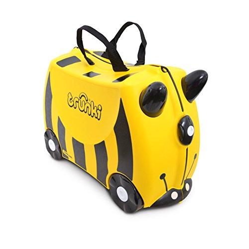 Trunki Trolley Kinderkoffer, Handgepäck für Kinder: Bernard Biene (Gelb)