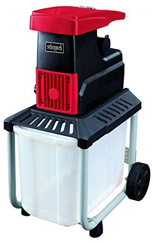 Scheppach 434262 Quiet Shredder GSE45S, 230V, 2800 Watt, W, 230 V, red black and white