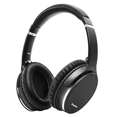 Noise Cancelling Kopfhörer, Leicht, Faltbar, Kabellos mit Bluetooth 5.0,Srhythm NC35 Over-Ear,Schnellladung,CVC8.0-Mikrofon, Megabass, 40+ Stunden Spielzeit -...