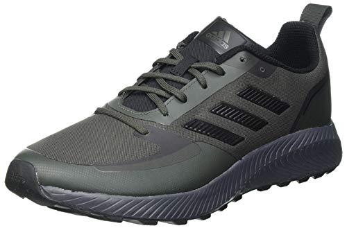 adidas Herren Runfalcon 2.0 TR Running Shoe, Legend Earth/Core Black/Grey, 42 EU