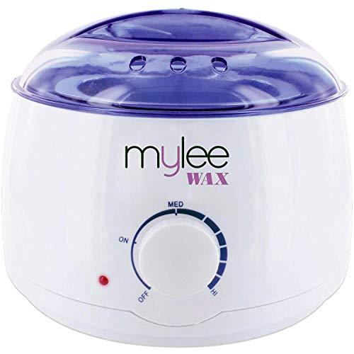 Mylee Professional elektrischer Wachserhitzer für alle Wachstypen, Wachsschmelzer für die Enthaarung, Enthaarungserhitzer mit anpassbarer Temperatur und...