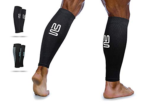 Calf bandage - calf compression stockings to increase performance and remedy for shinbone syndrome, circulatory disorders and cramps